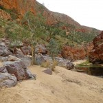 Die Ormiston Gorge.